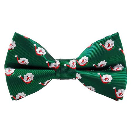KABOER Christmas Bow Tie Men's Holiday Christmas Tree Snowflake Pattern Bow Tie Christmas Snowflake Tie
