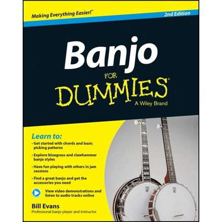 Banjo for Dummies : Book + Online Video and Audio Instruction