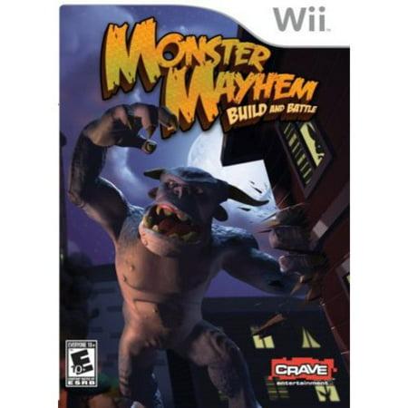 Monster Mayhem: Build and Battle (Wii)