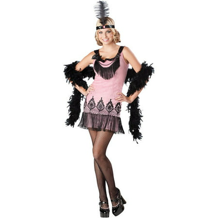Flirty Flapper Junior Halloween Costume - Jr. High Halloween Costume Ideas