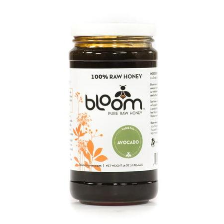 Honey Pear Cider (BLOOM HONEY - Avocado Honey - Pack of 6, 16 fl)