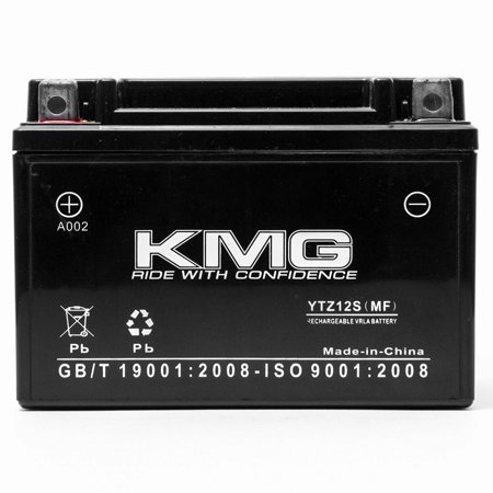 KMG Battery for Honda FSC600 Silver Wing 2002-2012 Replacement Battery YTZ12S Sealed Maintenance Free Battery High Performance 12V SMF OEM Replacement Powersport Motorcycle Scooter - image 3 of 3
