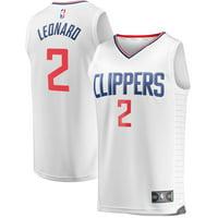 Kawhi Leonard LA Clippers Fanatics Branded Fast Break Replica Jersey White - Association Edition