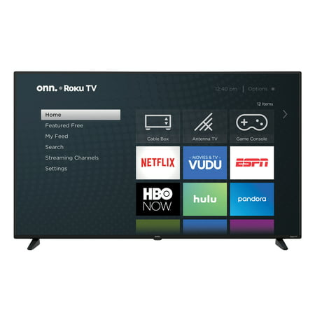 "onn. 58"" Class 4K Ultra HD (2160P) HDR10 Roku Smart LED TV (100005397)"