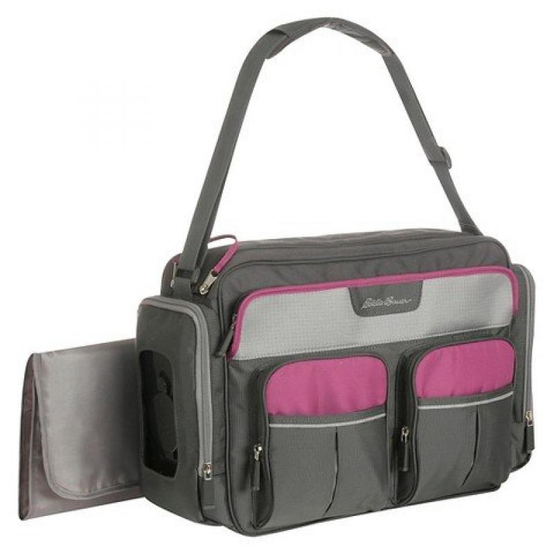 Eddie Bauer Places and Spaces Duffle Diaper Bag- Canyon