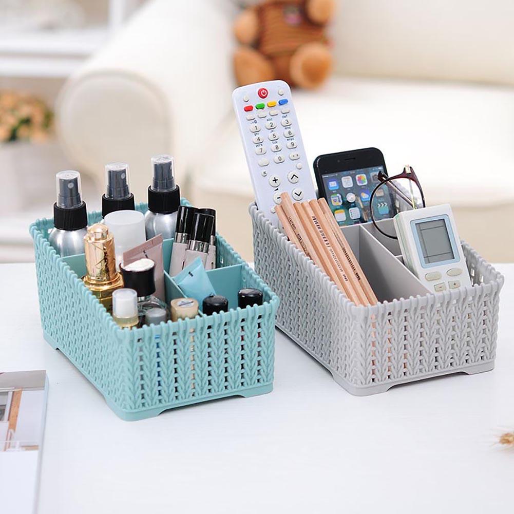 Heepo Braid Storage Box Rack Container Makeup Case Cosmetic Jewelry Desktop Organizer