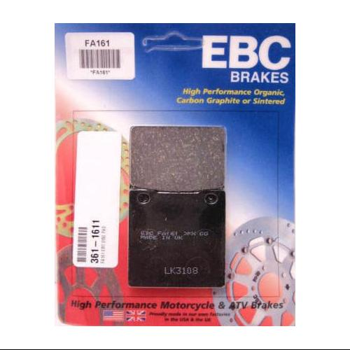 EBC Organic Brake Pads Rear Fits 01-05 Kawasaki ZR1200