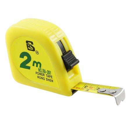 - Retractable Locking 2 Meters 79 Inches Measuring Tape Measure Tool