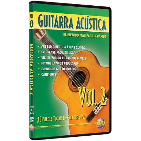 George Form By Songbook (Guitarra Acustica Vol. 2, Spanish Only - taught by Rogelio Maya - SongBook - GA2D )