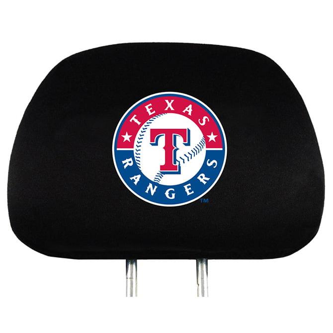 MLB Texas Rangers Headrest Covers