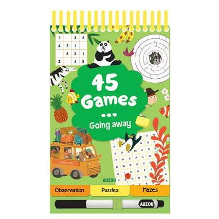 45 Games... Travel!