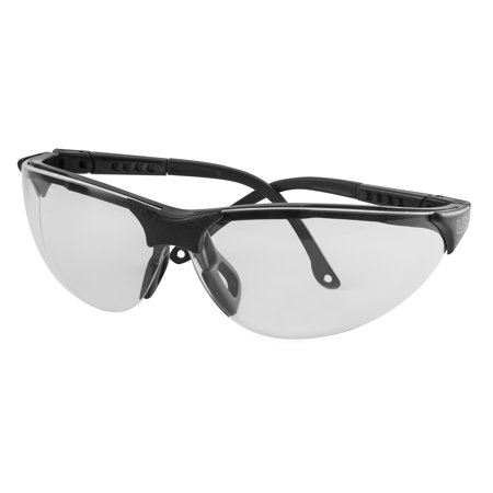 Umarex Sport Shooting Glasses Black Frame Clear Lenses with Lanyard and Bag