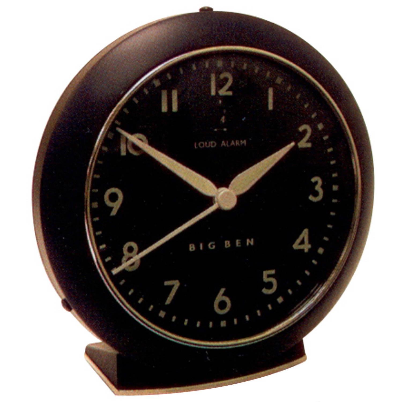 Westclox Black Alarm Clock