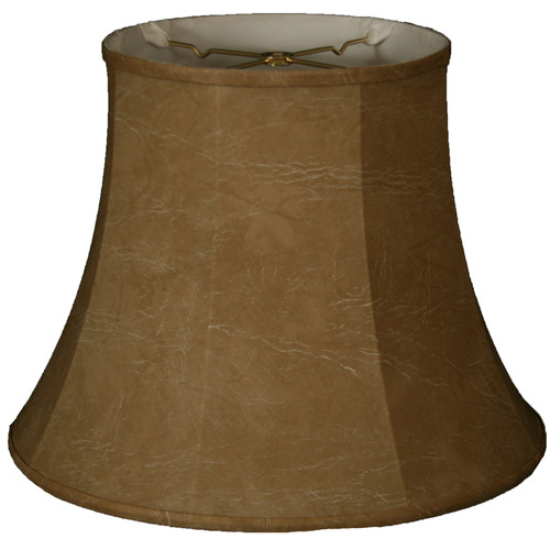 Alcott Hill 14'' Faux Leather Bell Lamp Shade
