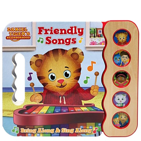 Daniel Tiger's Friendly Songs (Board Book) - Daniel Tiger Fabric
