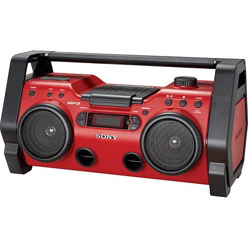 Sony Zsh10cp Heavy Duty Cd/radio Boombox