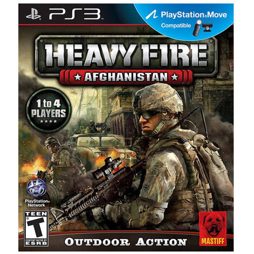 Heavy Fire: Afghanistan (PS3) - Pre-Owned