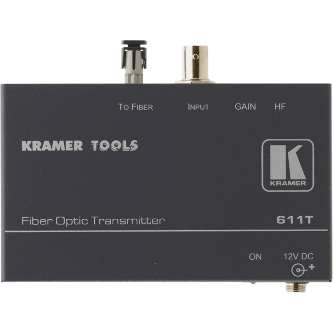 Kramer Electronics - 611T - Kramer 611T Video Extender - 1 Input Device - 1 Output Device - 16404.20 ft Range - 1 x ST
