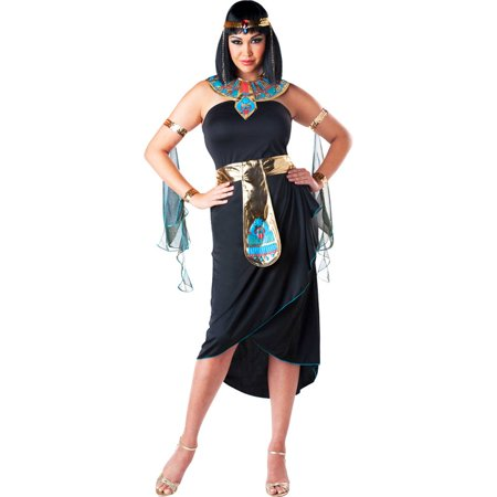Adult Plus Size Cleopatra Costume - Homemade Cleopatra Costume