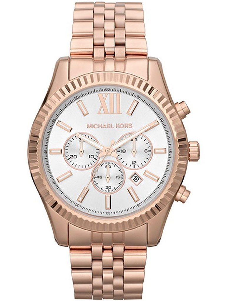 Michael Kors Unisex Lexington Chronograph Watch MK8313