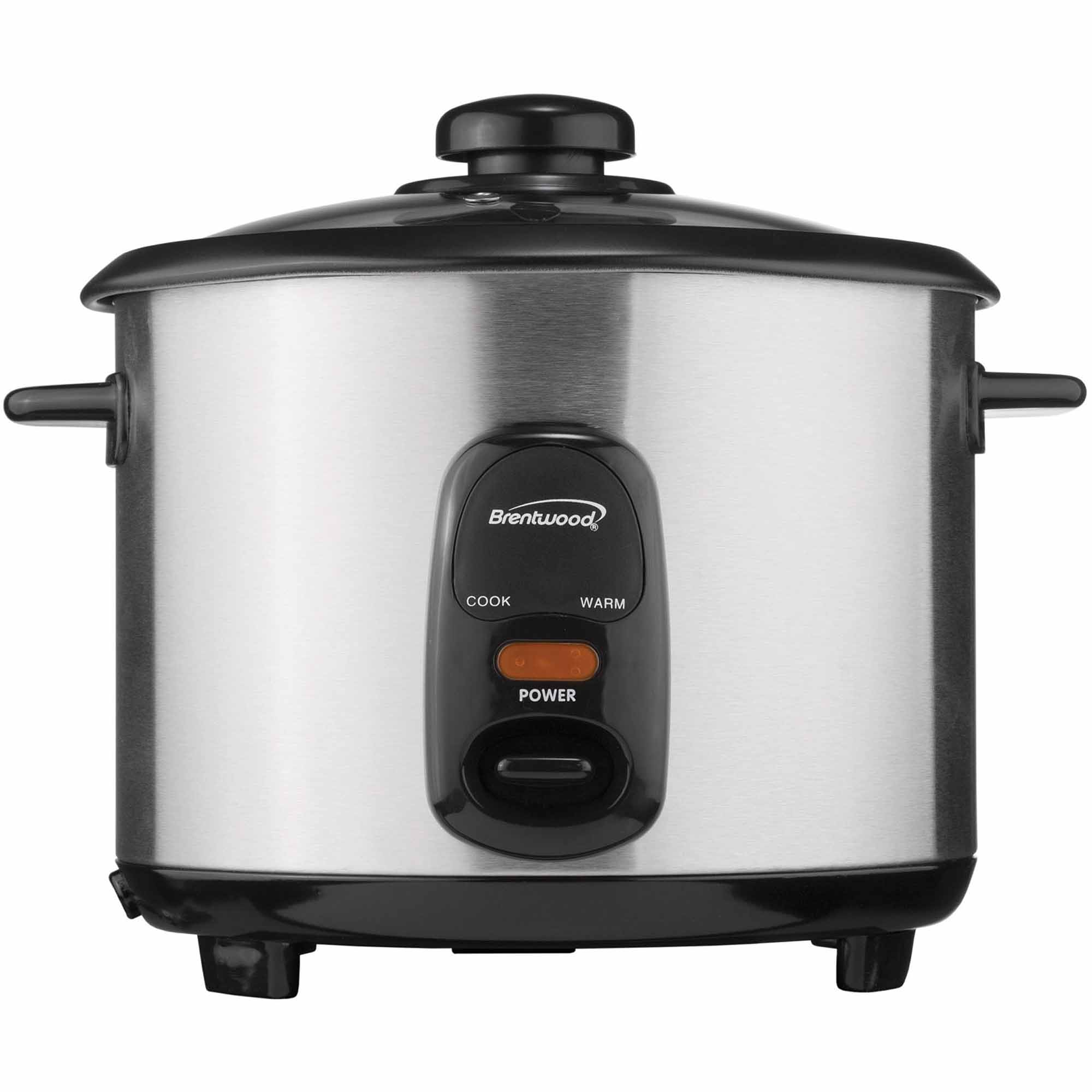 Brentwood TS-15 8-Cup Stainless Steel Rice Cooker