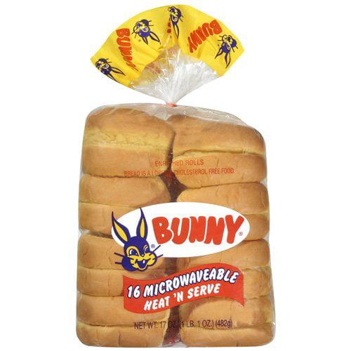 Bunny: Heat N Serve Rolls, 17 Oz