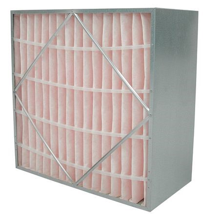 AIR HANDLER 2JTX3 Rigid Cell Filter, 20x24x12 In.