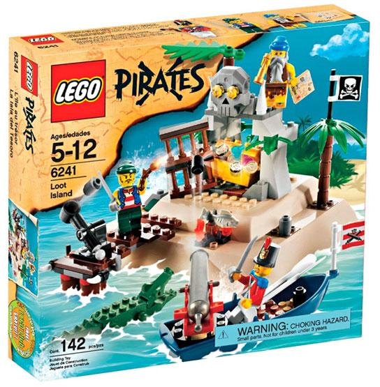 Lego Pirates Loot Island by