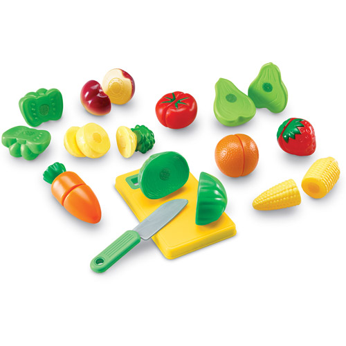 Learning Resources Pretend & Play Sliceable Fruits and Veggies