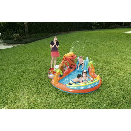 H2OGO! Lava Lagoon Inflatable Play Center