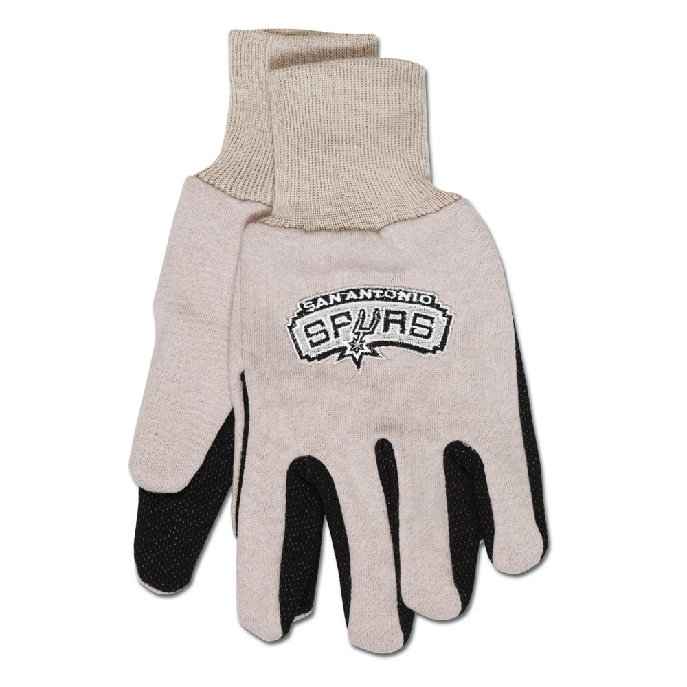 San Antonio Spurs Two Tone Gloves Adult by Wincraft