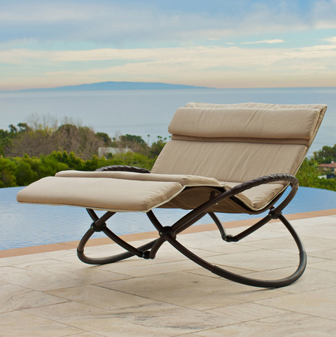 Rst Brands Double Orbital Lounger With C