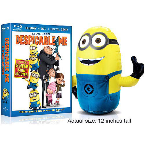 Despicable Me (Blu-ray + DVD + Inflatable Minion) (With INSTAWATCH) (Widescreen)