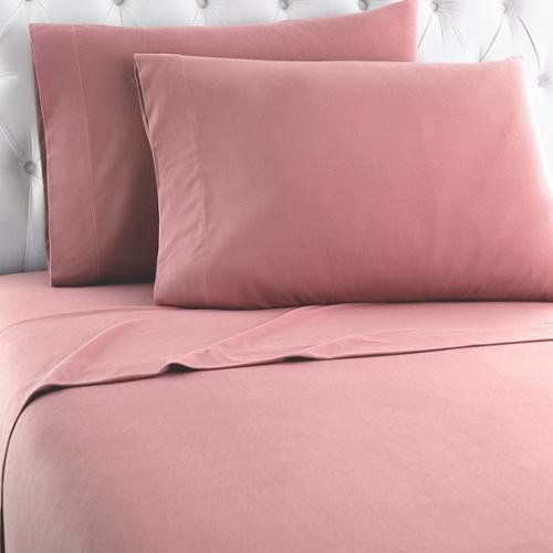Shavel Home Products Micro Flannel Solid Sheet Sets