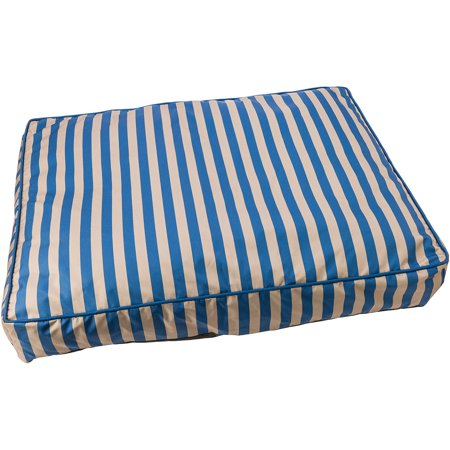 "Sleep Zone 40"" Cabana Pillow Dog Bed-Blue - image 1 de 1"