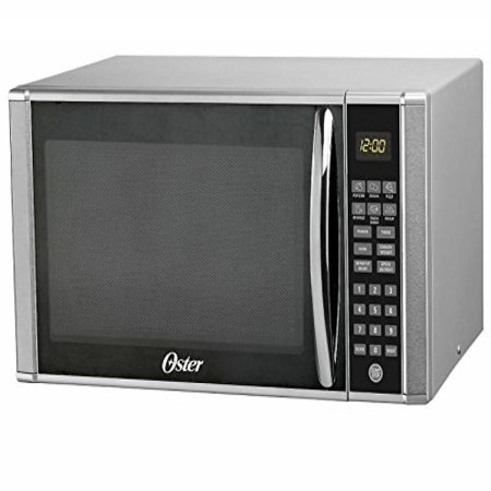 OSTER OGT41103 1.1 Cube Microwave Oven, Stainless Steel