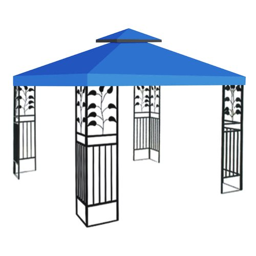 Sunrise Outdoor LTD Replacement Sunshade Double Tier Canopy Top Patio Pavilion Cover