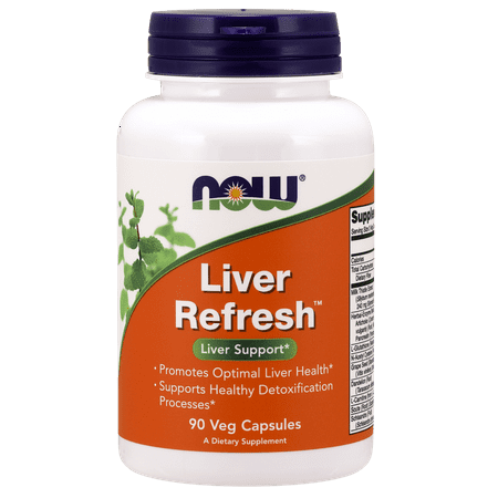 Now Foods Liver Detox Refresh Capsules, 180 Ct