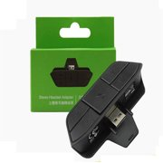 Xbox One Headset Adapter Stereo Headphone Audio Game Adapter For Microsoft Xbox One Controller