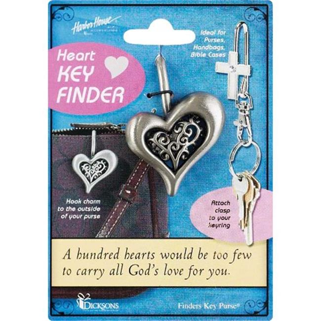 Dicksons Inc KK-100 Heart Filigree Key Keeper Finder - Pack of 3