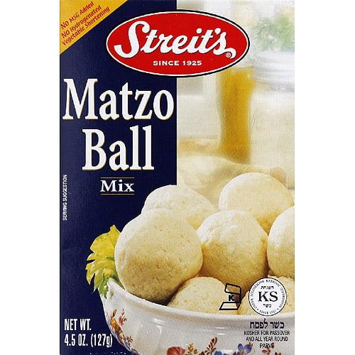 Streit's Matzo Ball Mix, 4.5 oz, (Pack of 12)