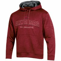 Men's Russell Athletic Cardinal Arkansas Razorbacks Synthetic Pullover Hoodie