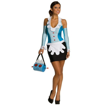 The Jetsons Secret Wishes Rosie the Maid Adult Costume](Rosie The Riviter Costume)