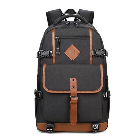 LDPT 2019 Men Waterproof Backpack Laptop School Bag Travel Handbag Rucksack (Best Commuter Backpack 2019)
