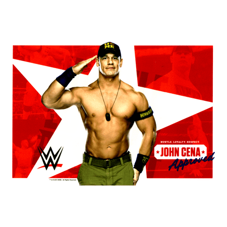 John Cena Party (WWE John Cena Edible Icing Image Cake Topper (1/4)