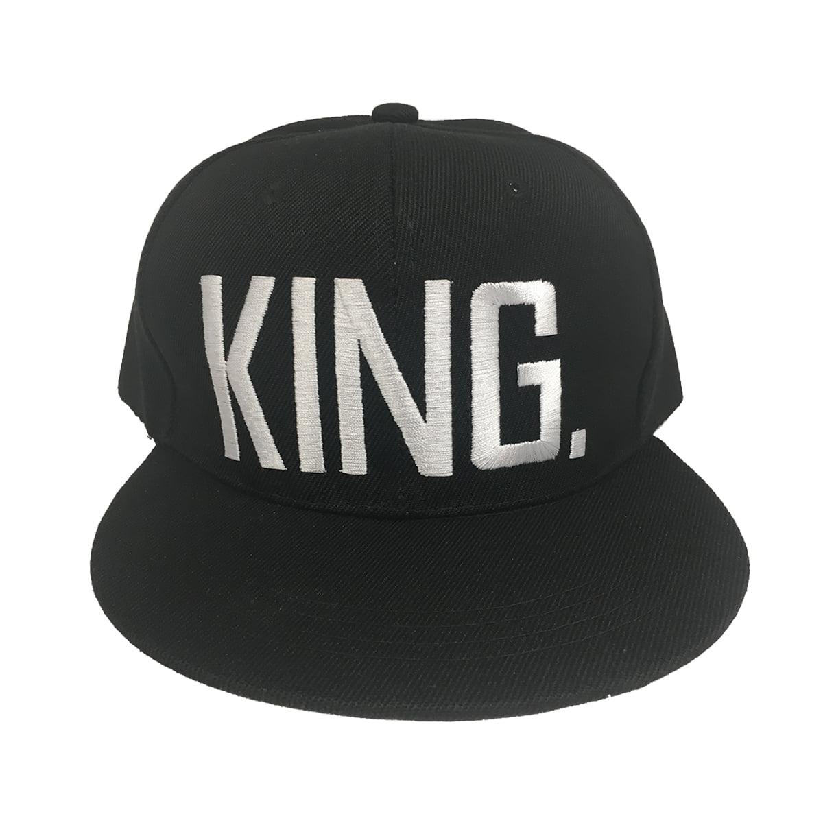 e10b31d69c7 King White Letters Black Baseball Cap