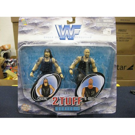 Wwf 2 Tuff 1 Chainz And 8 Ball By 1998 By Jakks Pacific