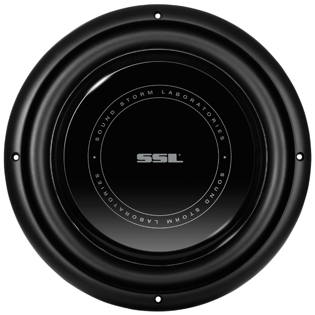 "Soundstorm SLP12 Ssl Slp12 Low-profile High-power Single Voice Coil Subwoofer, 12"", 1,200 Watt"