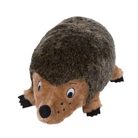 Outward Hound Hedgehogz Squeaking Plush Dog Toy, Small