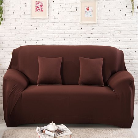 Peachy Eecoo Elastic Anti Wrinkle Couch Covers Solid Color Stylish Sofa Slipcover 1 4 Seat Soft Lightweight Slip Resistant Sofa Furniture Protector Cover Machost Co Dining Chair Design Ideas Machostcouk